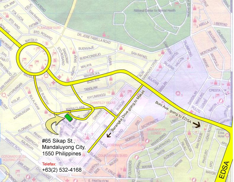 Contact Us Holistic Education Montessori Center - Mandaluyong map